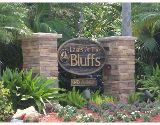 Lakes at the Bluffs Sign, Jupiter FL