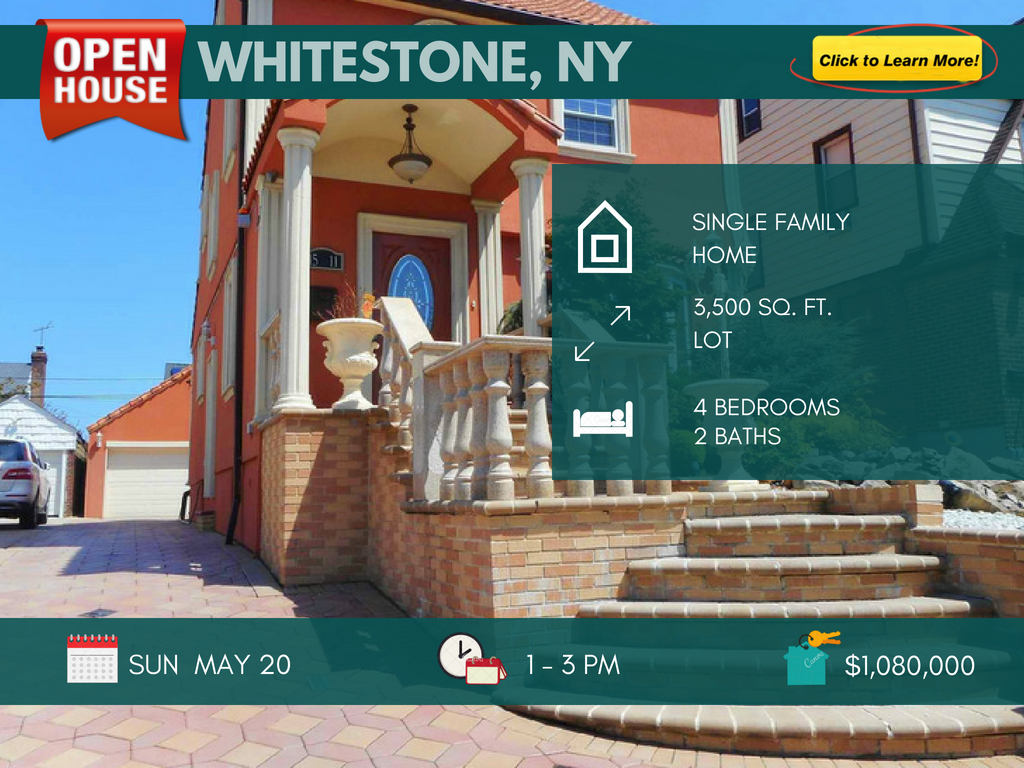 Whitestone ny house for sale
