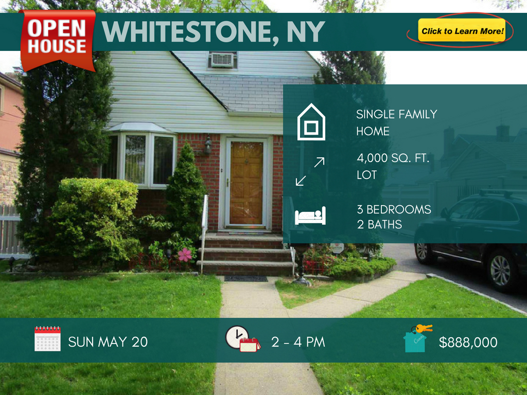 Whitestone queens house for sale