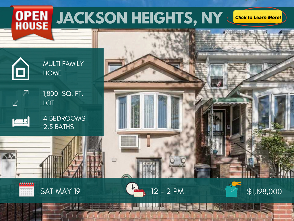 Jackson Heights multi family house for sale