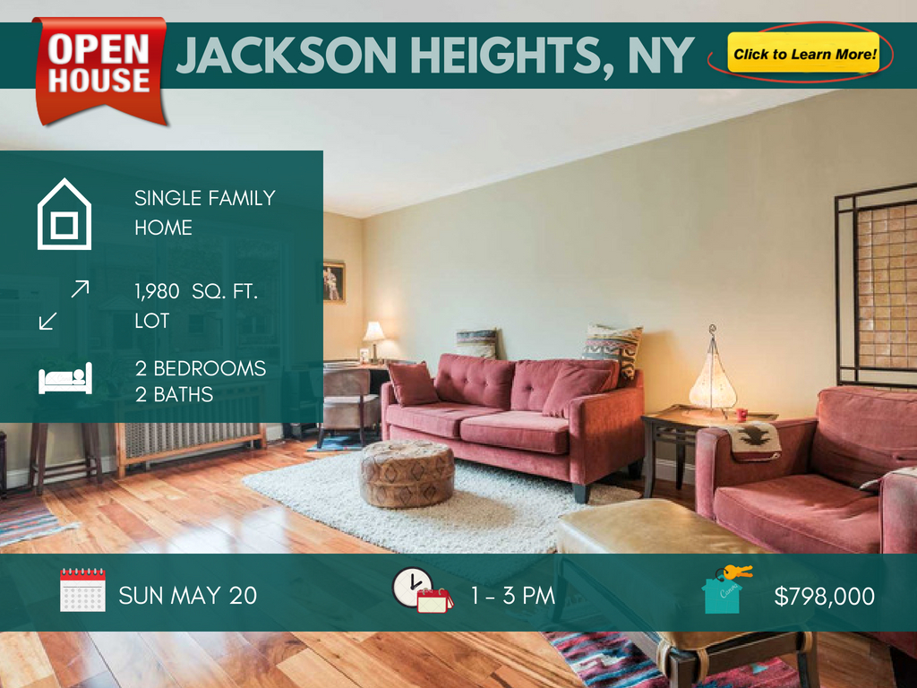 Jackson Heights single family house for sale