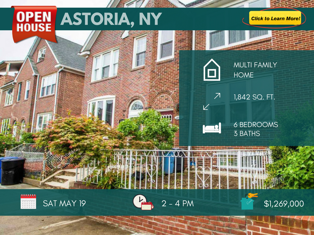 2 Family house for sale in Astoria Queens