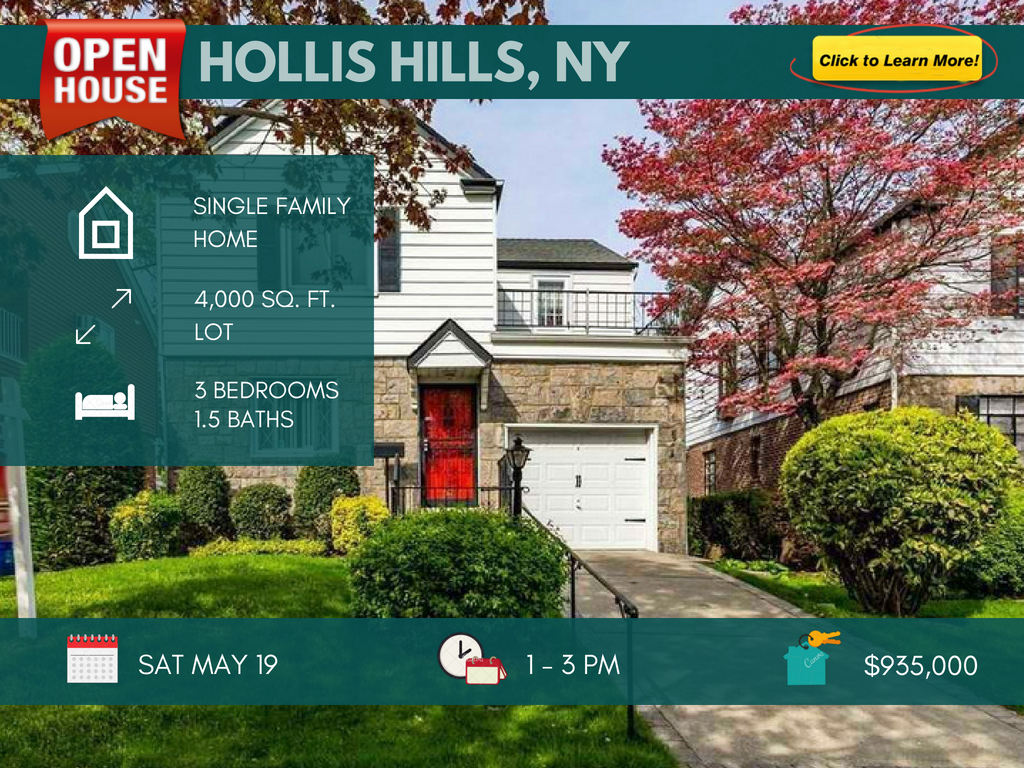 hollis hills ny house for sale