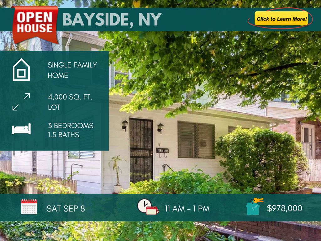 single family home for sale in bayside queens