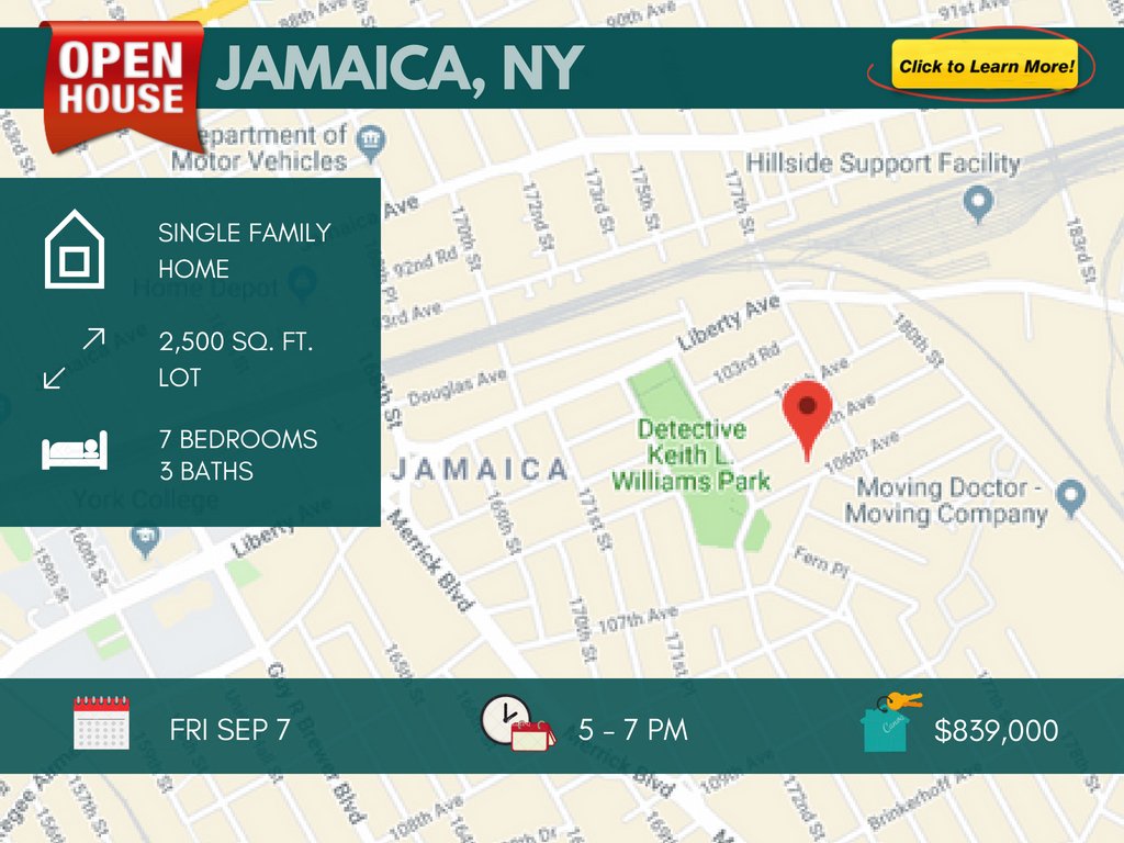 2 family for sale in Jamaica queens