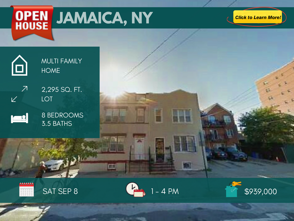 investment property for sale in Jamaica Queens
