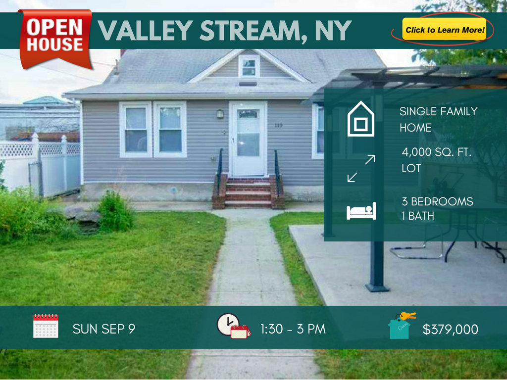 3 bedroom house for sale in valley stream ny