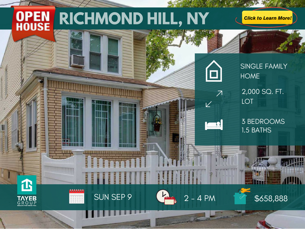 3 Bed Detached Home in Richmond Hill, Queens