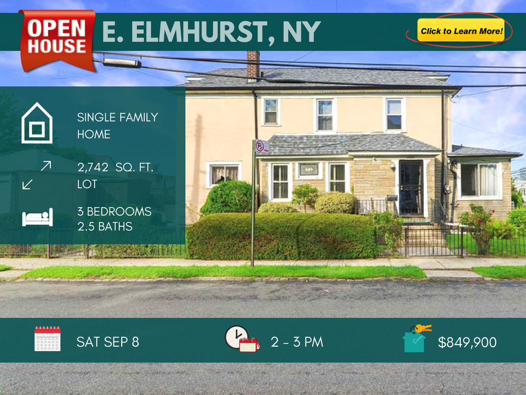single family home for sale in East Elmhurst NY