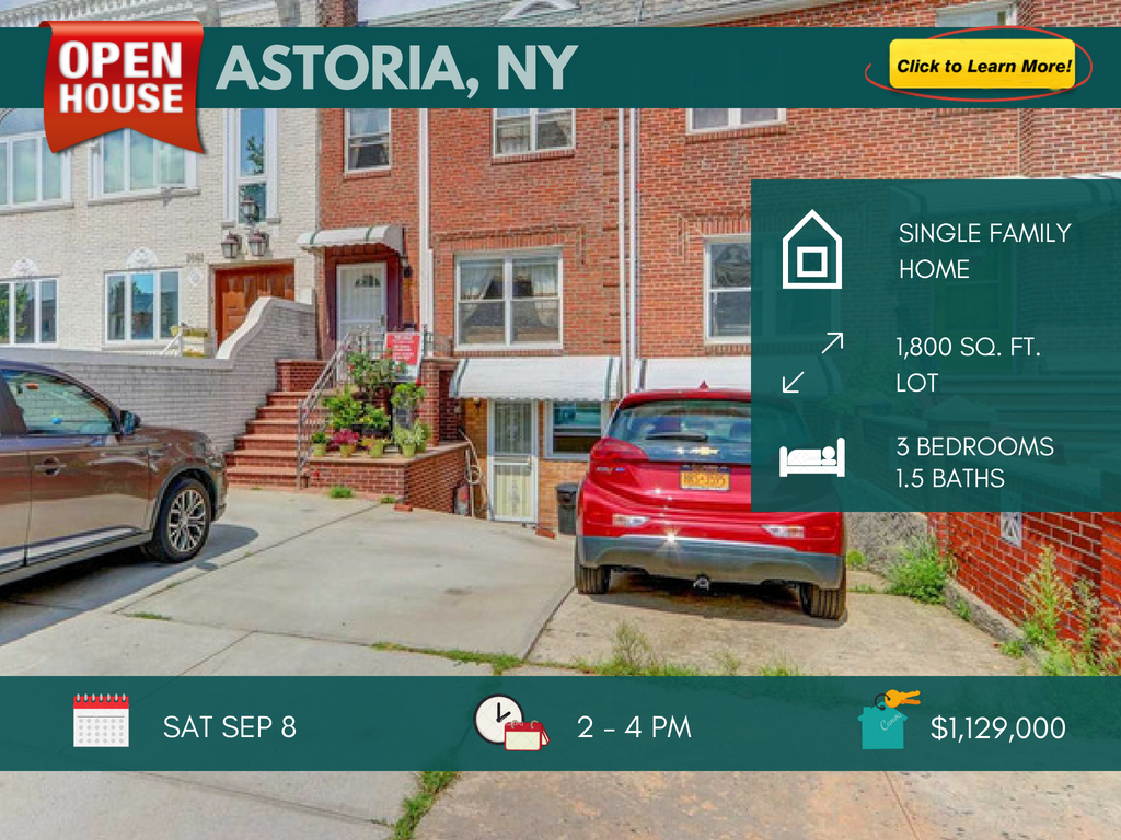 Astoria Queens house for sale