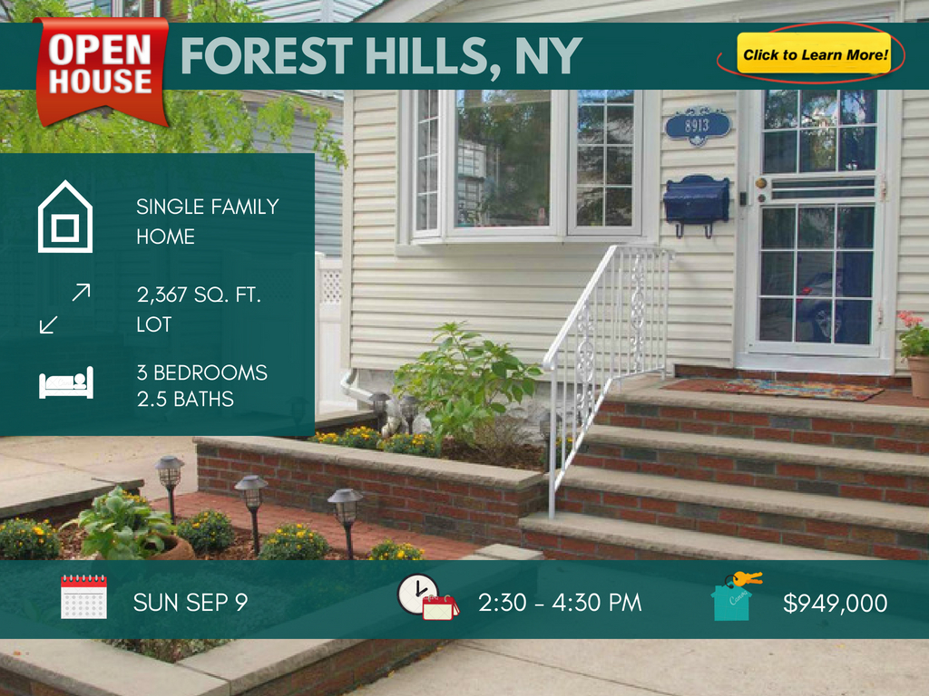 Forest Hills Queens home for sale