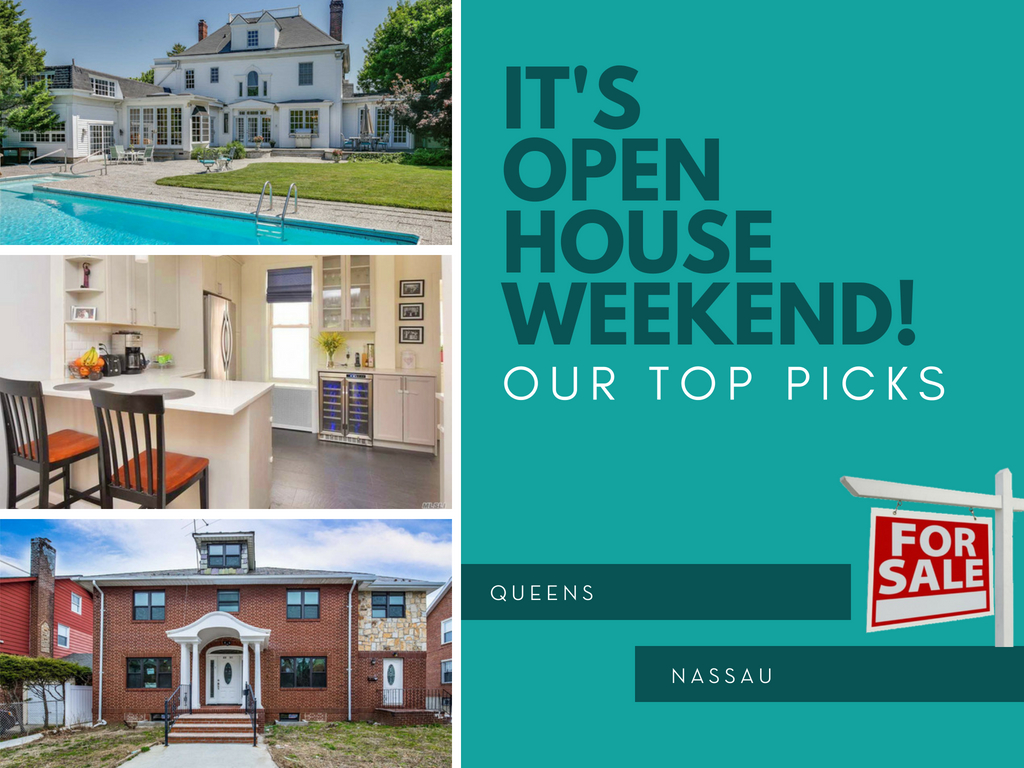 Queens and Nassau Open Houses May 2018