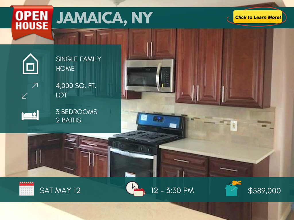 Jamaica Queens house for sale