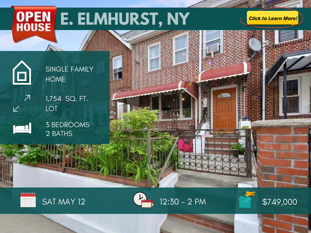 east elmhurst single family house for sale