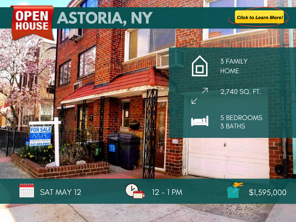 Astoria multi family house for sale