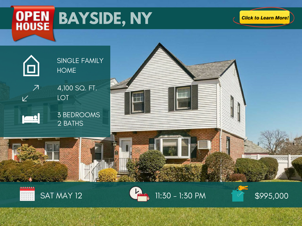 Bayside Queens house for sale