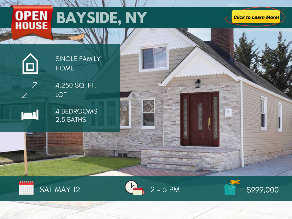 Bayside NY home for sale