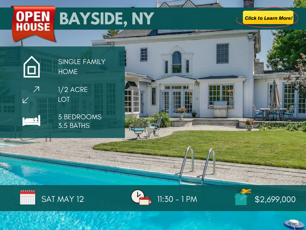Luxury Bayside Queens home for sale