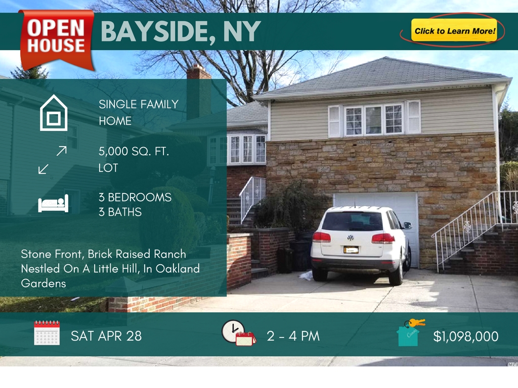 3 Bedroom Home for Sale in Bayside Queens