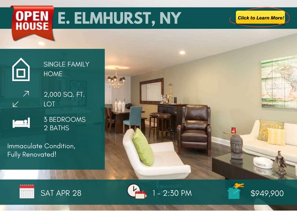 east elmhurst fully renovated home for sale