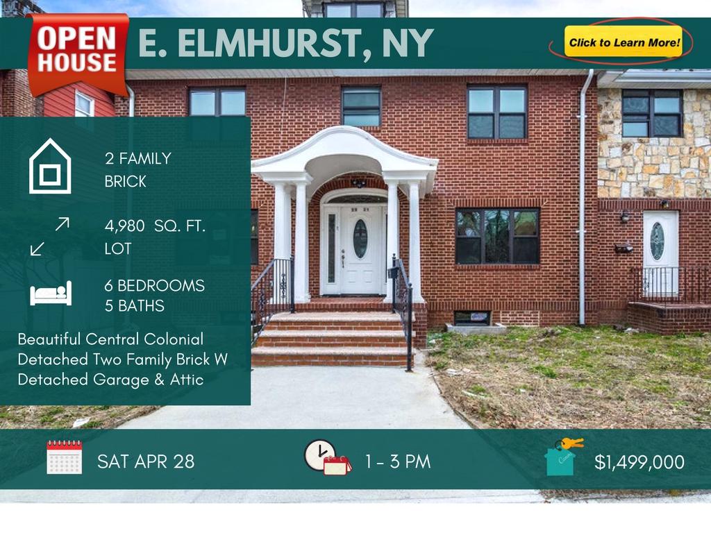 Detached 2 Family Home in East Elmhurst