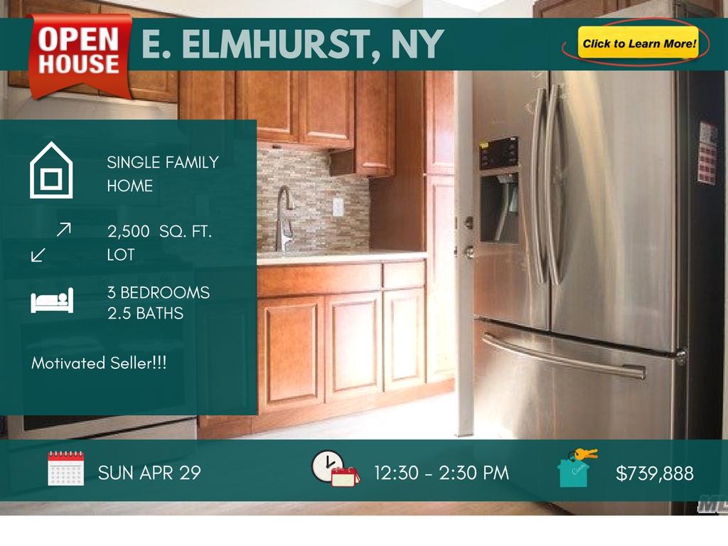 3 Bedrooms East Elmhurst House for Sale