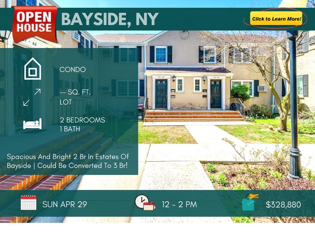 2 Bedroom Coop For Sale In Bayside Queens