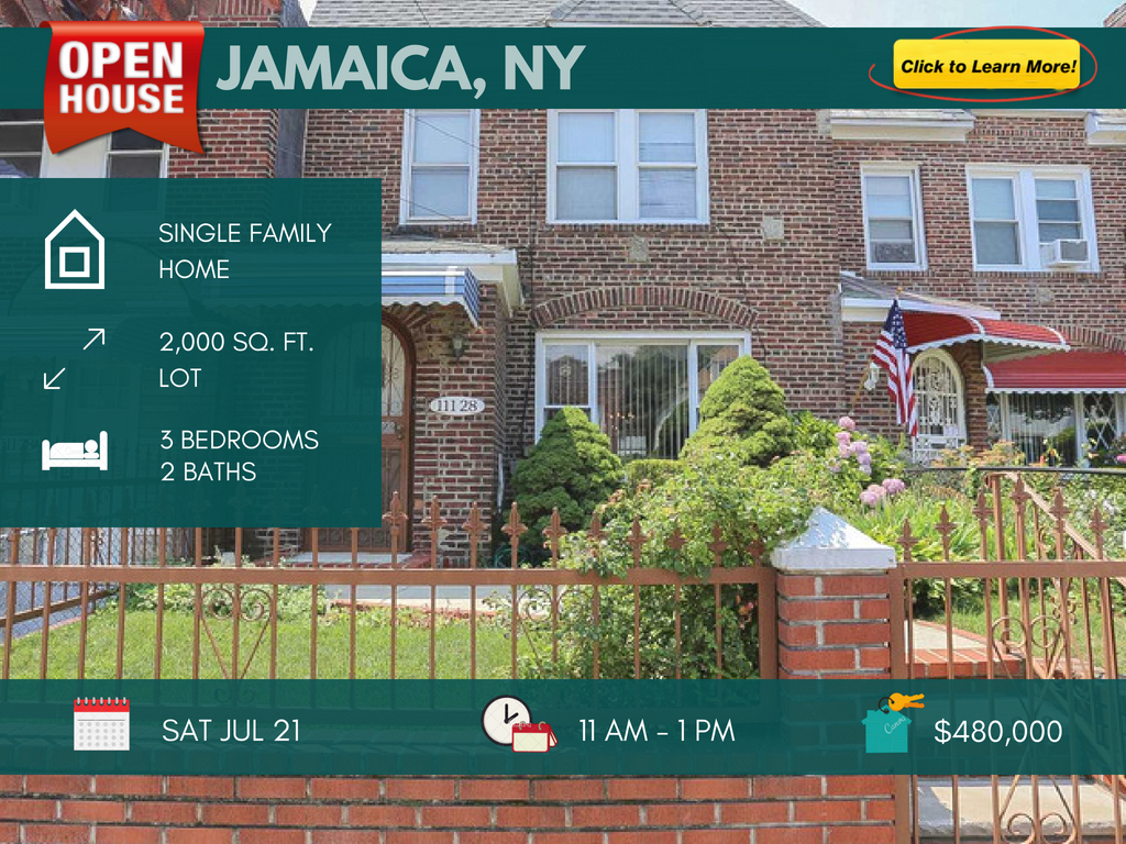 Jamaica queens single family for sale