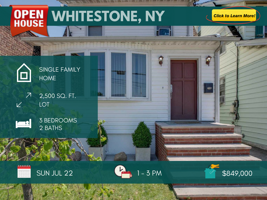 lovely single family home for sale in Whitestone queens