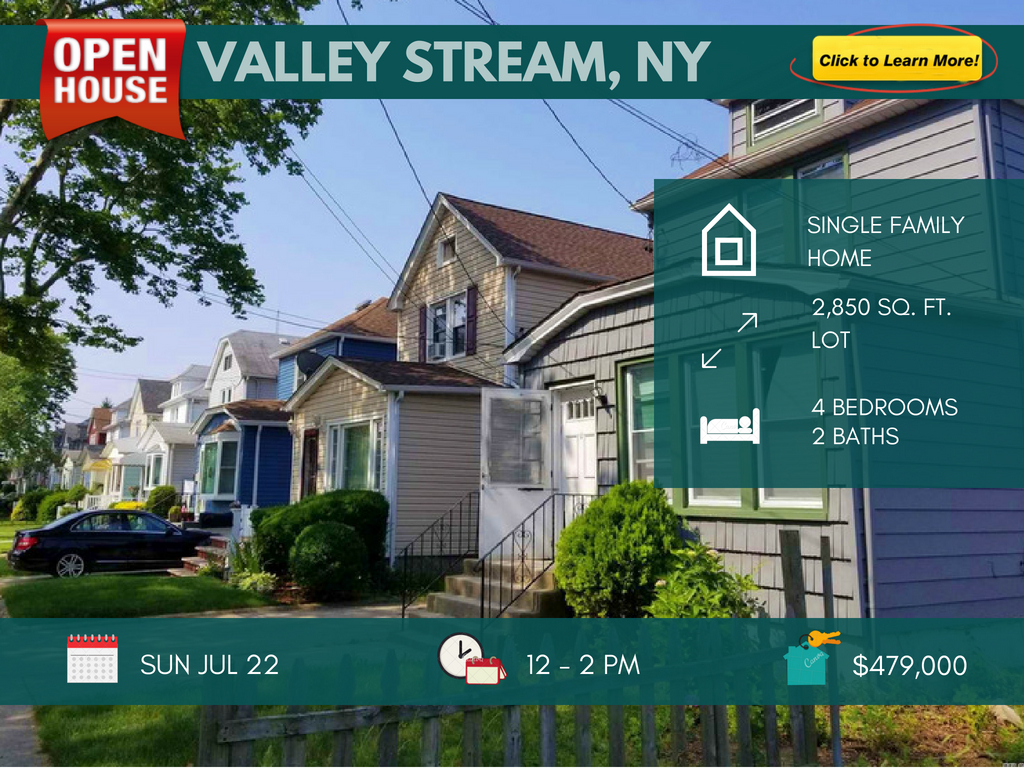 beautiful single family home for sale in valley stream ny
