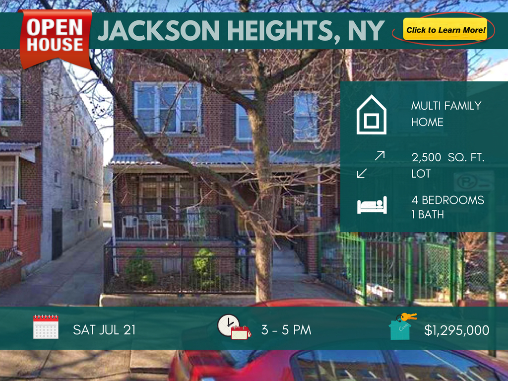 Jackson Heights 2 family for sale