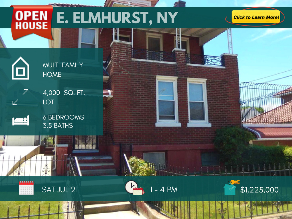 east elmhurst multi family home for sale