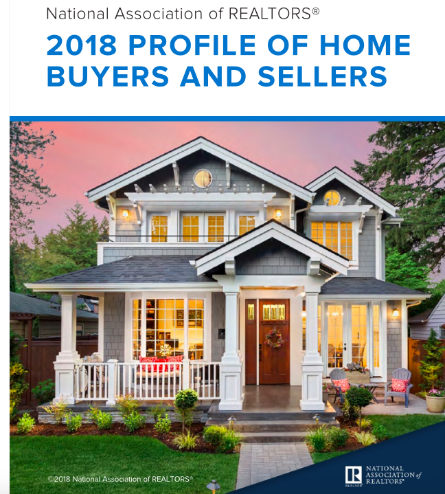 2018 NAR Home buyer and seller report trends