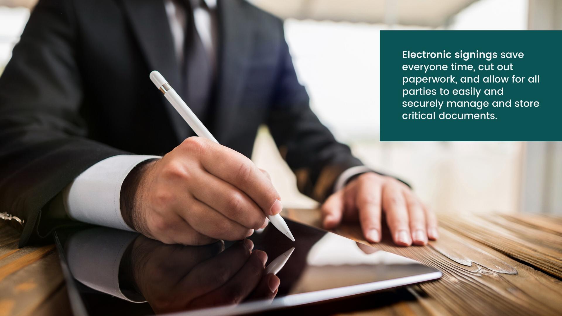 electronic Document Signing