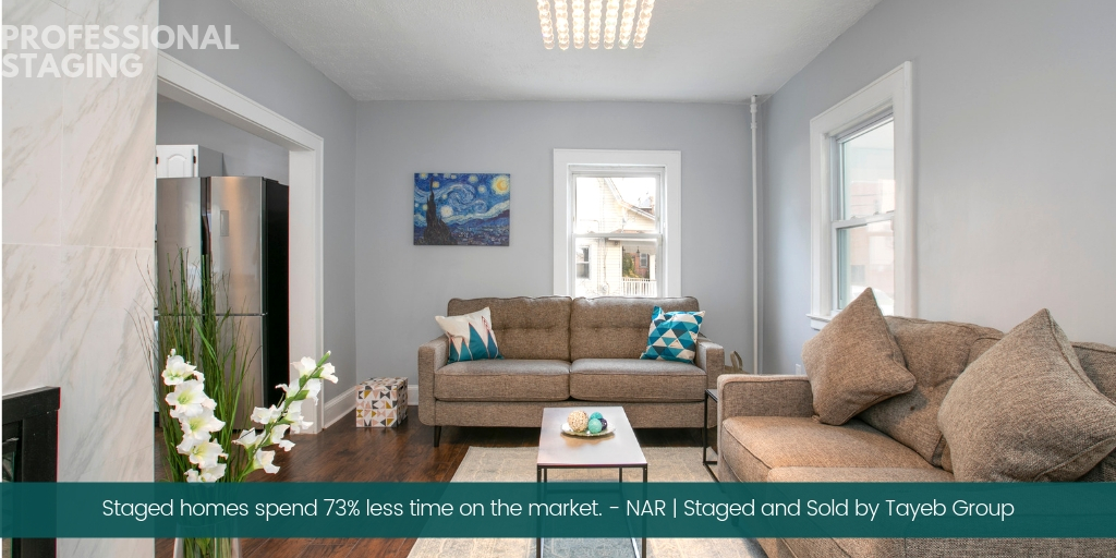 professional staged homes sell faster