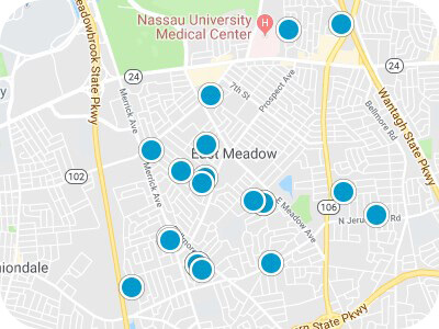 East Meadow Real Estate Map Search