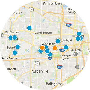 Downers Grove Real Estate Map Search