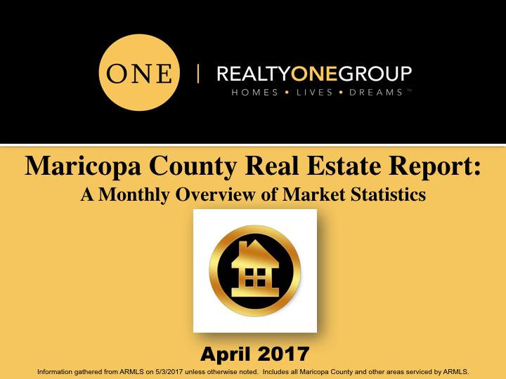 April 2017 MLS Market Report