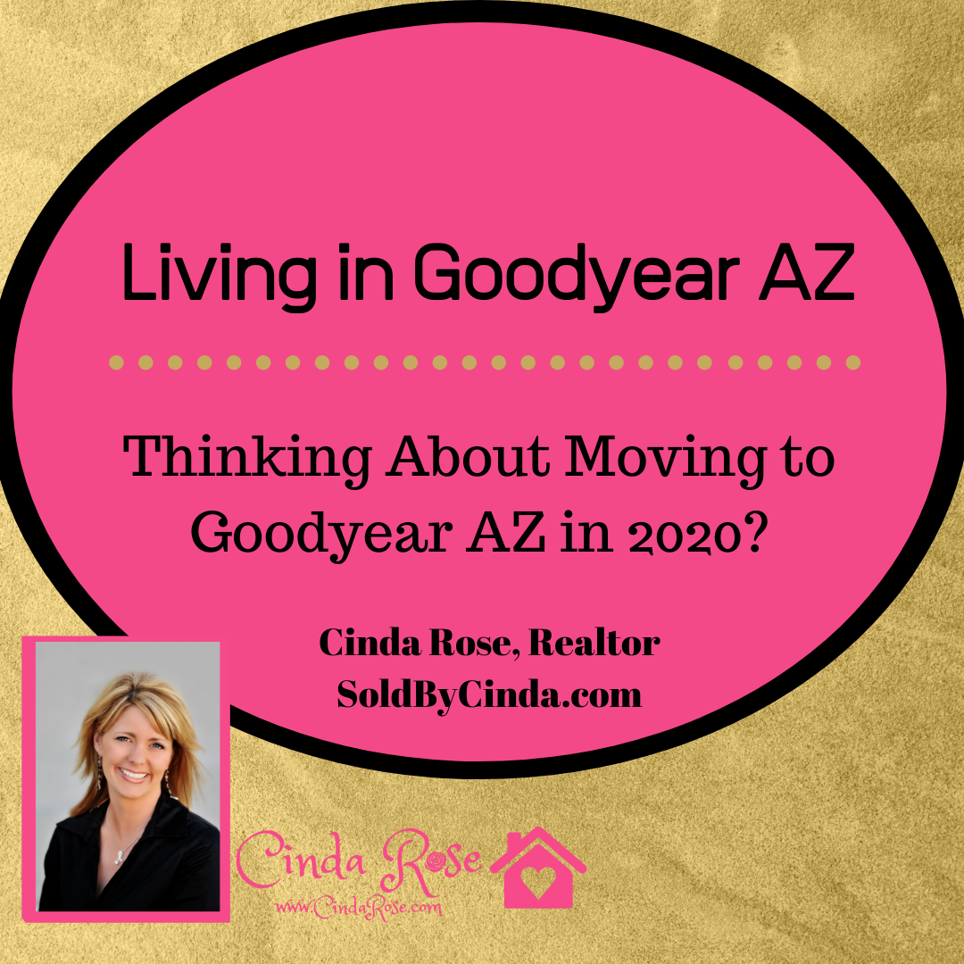Moving to Goodyear, AZ