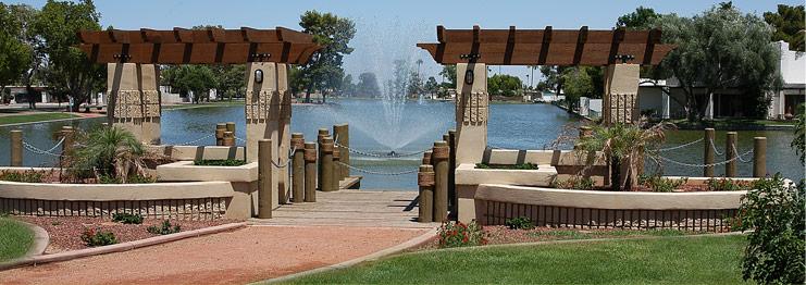 Litchfield Park Fountain
