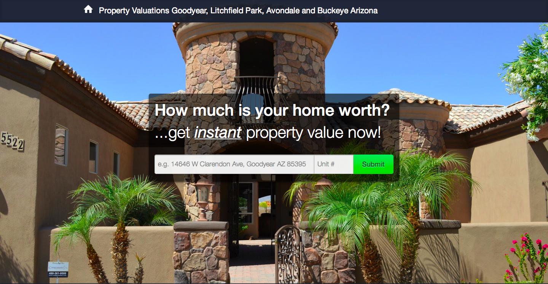 Goodyear, Litchfield Park, Avondale, Buckeye Property valuations