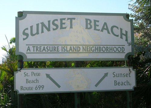 Sunset Beach Fork - Treasure Island
