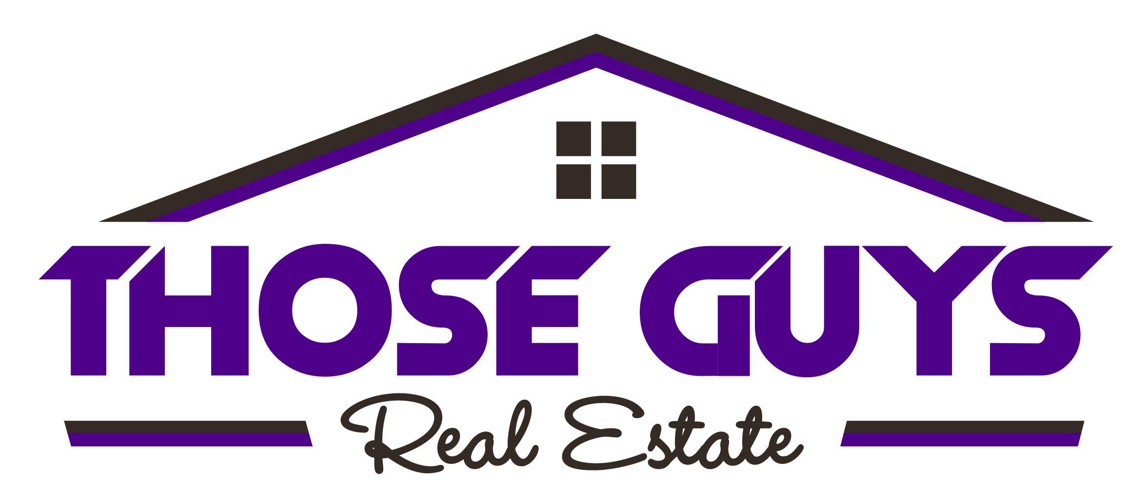 Those Guys Real Estate Logo