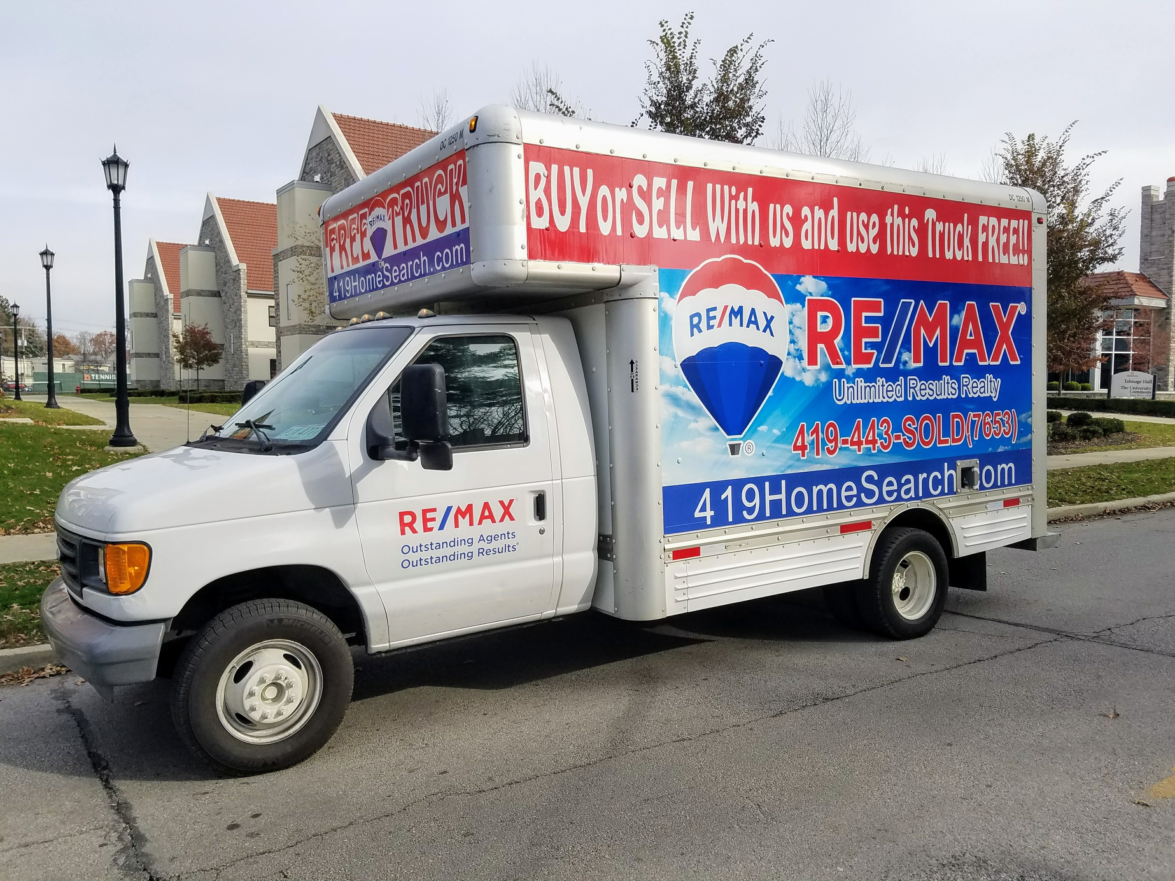 Re Max Unlimited Results Realty Box Truck