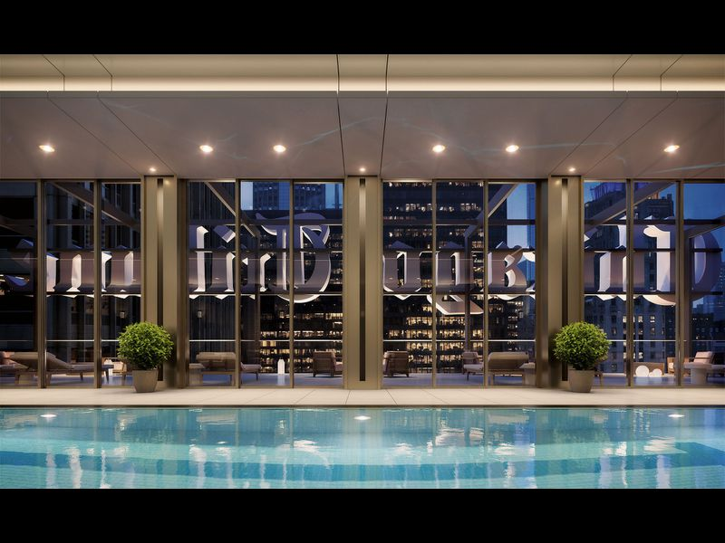 Tribune Tower Chicago Condos - Indoor Pool