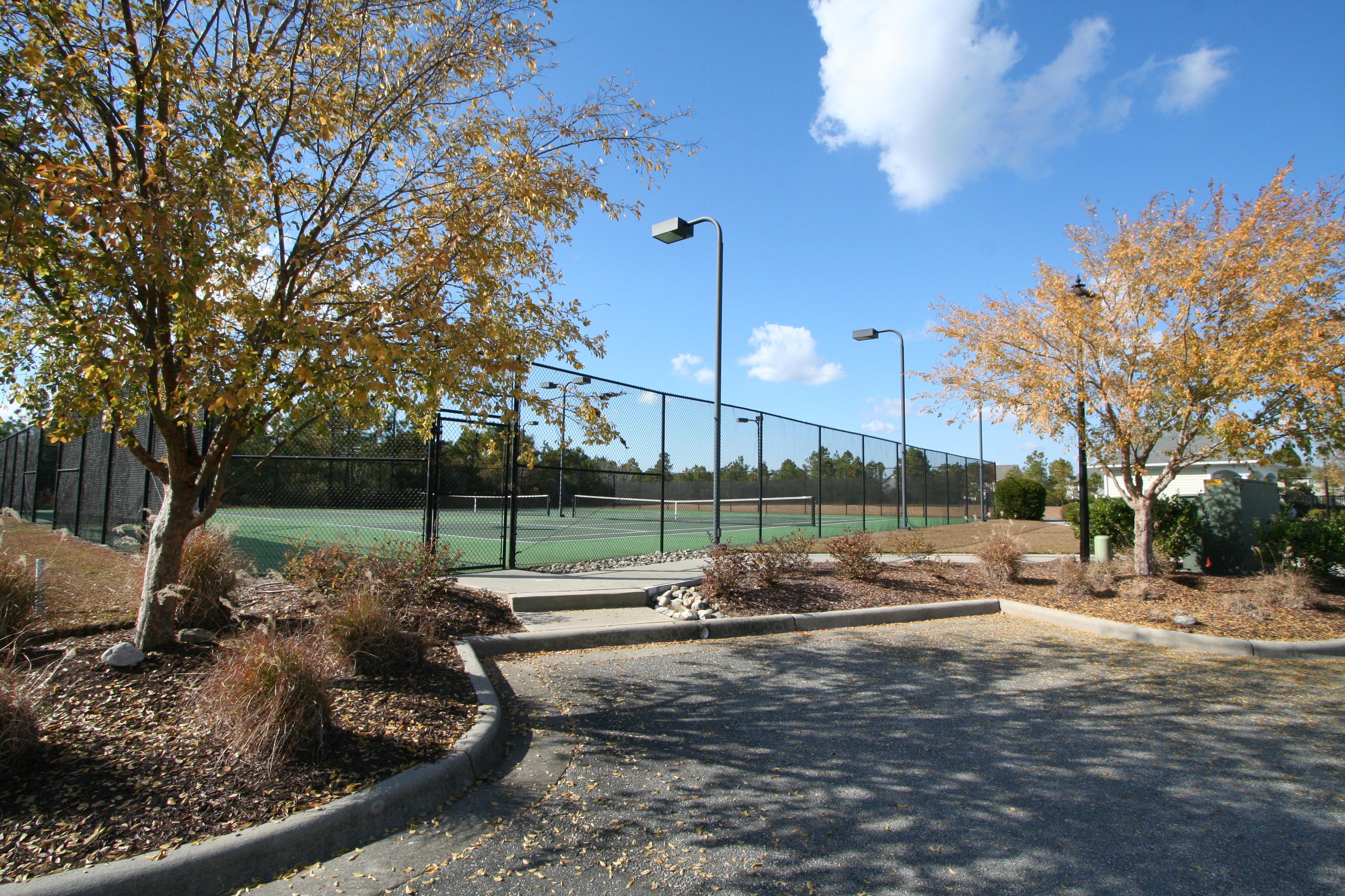 Grayson Park Leland, NC Tennis courts