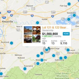 Dandridge Real Estate Map Search
