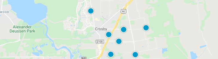 Search By Map : Crosby Texas Homes For Sale
