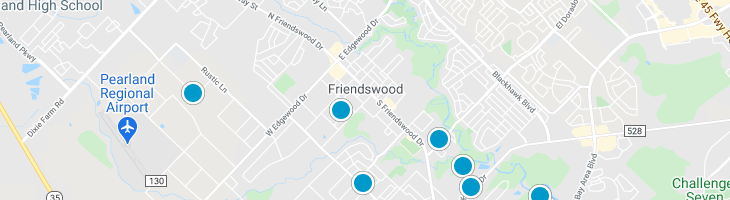 Search By Map : Friendswood Texas Homes For Sale