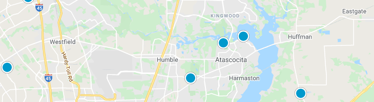 Search By Map : Humble Texas Homes For Sale